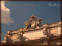 Angels Guarding the Trevi Fountain