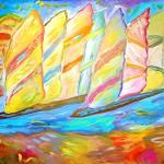 """sailing races"" by danielscharf"