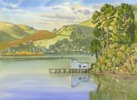 Boathouse on Otago Harbour