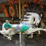 """carousel running horse"" by ScottsArt"