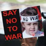 """say no to war"" by amkay"