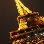 """Eiffel Tower at night"" by limelight"