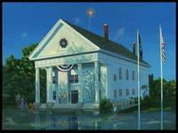 The Fourth of July -Bedford Town Hall- Bedford Nh