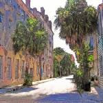 """Charleston SC street scene"" by CheneyLightPrint"