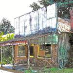 """Abandoned store"" by CheneyLightPrint"