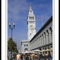 Ferry Building San Francisco Art Prints & Posters by TLC Fotografie