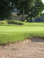 Golf Flag and Bunker