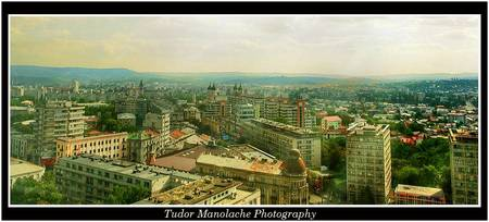 Iasi from above