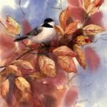 """Autumn Chickadee"" by Sharon_himes"