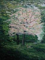 THE CHERRY TREE - acrylic