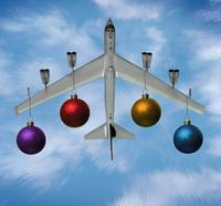 B52 Bomber (Buff) Christmas Tree