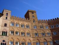Beautiful architecture in Sienna Italy