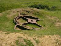 Gun Turret - Normandy, France
