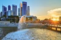 Merlion Sunset
