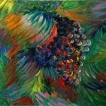 """Vibrant Grapes"" by nadinerippelmeyer"