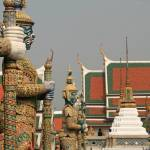 """Bangkok Palace Figures"" by DRW"