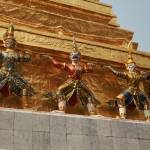 """Bangkok Royal Palace Figures"" by DRW"