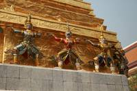 Bangkok Royal Palace Figures