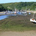 """Boats at Solva Harbour"" by DRW"