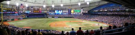 Tropicana Field Panoramic