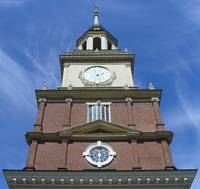 Tower at Independence Hall