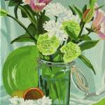 """Green Carnations"" by MelindaPatrick"