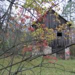 """Old Barn in Fall"" by eagleswings"