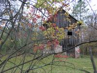Old Barn in Fall
