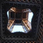 """Eiffel Tower Abstract"" by SallyMcKay"