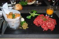 Steak Tartare on the Eiffel Tower