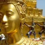 """Statue at Grand Palace in Bangkok"" by jaho"