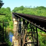 """Trestle at Conneaut Creek"" by canfielddave"