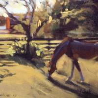 Horse and Barn Art Prints & Posters by Roger White