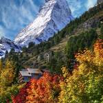 """The Matterhorn from Zermatt"" by lockhart"