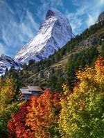 The Matterhorn from Zermatt
