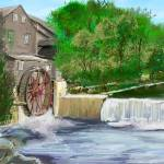 """OLD MILL"" by Rigot"