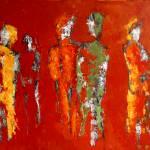 """Orange Party People"" by simonevanbergen"
