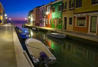 Burano canals - Yannis Larios Photography