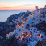 """Santorini Oia Sunset"" by larios"