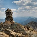 """Cairn at Avalanche Peak"" by drladd"