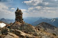 Cairn at Avalanche Peak