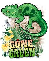 GECKO GONE GREEN