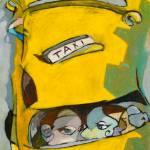 """""""The Cab Ride"""" by Prestonart"""