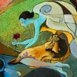 """Blue Angel Dream"" by Prestonart"