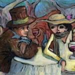 """The Wine Lunch"" by Prestonart"