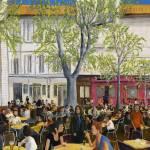 """Saturday At Avignon"" by PeterWorsley"