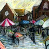 The French Market Art Prints & Posters by Mark Preston