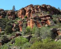 Pinnacles Rock Face