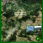 """Nürburgring Nordschleife Aerial Image Poster (New)"" by jtwaronite"
