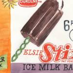 """Borden Elsie Stix Ice Milk Bars"" by 1970something"